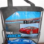 Новая сумка /рюкзак для обуви тканевая, для мальчика