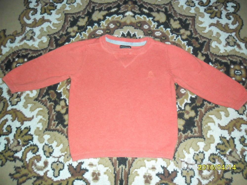 Красивый свитерок на выход на 80см рост фото №1