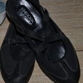 GEOX балетки туфли 40р. Кожа+ сетка. Оригинал