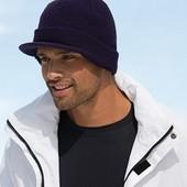 Вязаная шапка с козырьком 7530, цвета в наличии, фото внутри