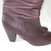Женские кожаные сапоги Roberto Santi р.42см дл.ст 27,5см