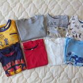 Продам комплекты футболок и регланов C&A Matalan Chicco на 2-3 года