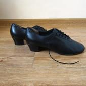 Paoul р.41 туфлі шкіряні для спортивних бальних танців