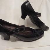 Туфли Кожа Gabor 39,5-40 размер
