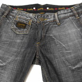Herrlicher. Модные, трендовые джинсы с небольшим клёшем. Германия. Размер: W 29 / L 34