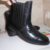 Мужские ботинки натуральная кожа 44 ( 29 см )