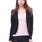 Классный пиджак  от H&M L черный блейзер