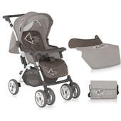 Коляска детская Bertoni Combi Dawn beige + Mama Bag