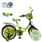 6-8 лет Велосипед детский 18дюймов  BN 0041 Бен 10