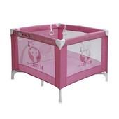 Манеж - кроватка детская Bertoni Play Station цвет Pink Kitten