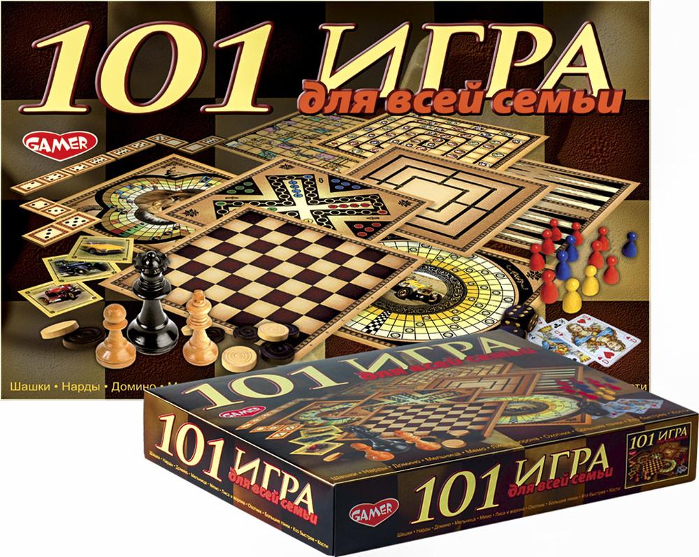 """Детская настольная игра """"101 игра для всей фото №1"""