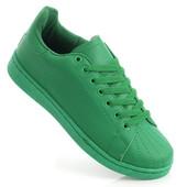 Женские кроссовки Алла Зеленый  rf3807