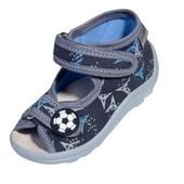 Тапочки-сандалики для мальчика Karo серые на мальчика