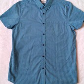 Классная мужская рубашка в клетку