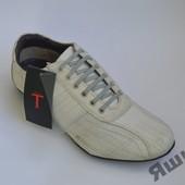 Спортивные туфли TSF натур кожа 42р.