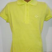 Поло желтое футболка 6-8 и 8-10 лет