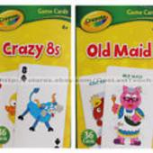 Развивающие карточки Crayola 36шт в уп.Большие 13,5*8,5 см