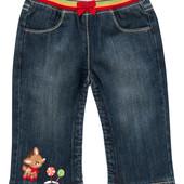 Детские джинсы для девочки. 6-12 месяцев.