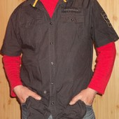 Фірмова стильна рубашка сорочка бренд NKD.хл-2хл .