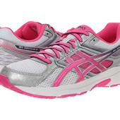 Asics Кроссовки белые с розовым Gel-Contend бренд оригинал из сша р. 38