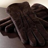 Замшевые перчатки Tchibo, Германия