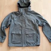 Стильная куртка ветровка утепленная Crafted