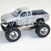 Машинка Dodge Ram метал 1:36 серая
