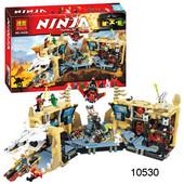 Бела Ниндзя 10530 конструктор Bela Ninjago ниндзяго Хаос в Х-пещере