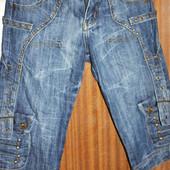 Бриджи джинсовые!