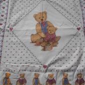 Фирменное детское одеяльце на тоненьком синтепоне