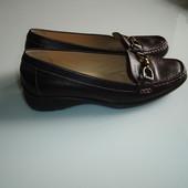 Кожаные туфли Geox , размер 39 сделаны в Бразилии состояние идеальное, обуты 1 раз  на узкую и средн