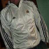 Фірмова .Оригінал кофта олимпийка мастерка Adidas.Ф.к Реал .хл-л.