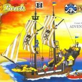 Конструктор Brick 307 Пиратский корабль