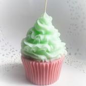 Свечи в виде пирожного! Украшение праздника!