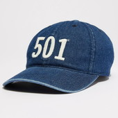 Джинсовые бейсболки Levis 501 Denim Baseball Hat