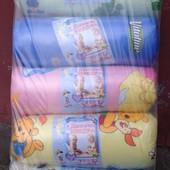 Детское Одеяло+Подушечка Силиконовые ткань Бязь