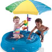 Садовый бассейн с зонтом Step 2