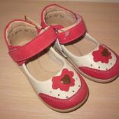 Летние туфли, туфельки для девочки Берегиня 2611 кожаные р.20-25 босоножки