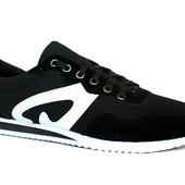 Мужские легкие мягкие удобные кроссовки (Ч-15)