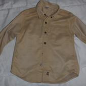 рубашка на мальчика 3-4 года