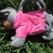 Детская сумка-игрушка собачка