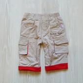 Стильные штаники на котоновой подкладке для мальчика. Baby Butt. Размер 6 месяцев