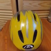 Желтый Немецкий Шлем (Велосипед,Ролики,скейт)р-р52-58.Гернмания
