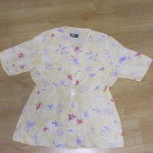 Блузка летняя легусенькая на пышную фигуру