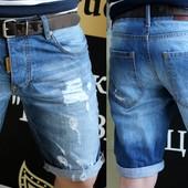 Новинка!!Джинсовые шорты. Размеры:44 - 52
