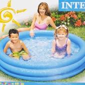 Бассейн 3 секции 147*33см 58426 Интекс Intex