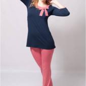 Женская пижамка комплект для дома С М ХЛ