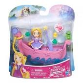 DPR Набор для игры в воде: маленькая кукла Принцесса и лодка Рапунцель 37193к
