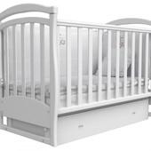 Детская кроватка Соня ЛД 6 маятник+ящик 2 цвета