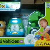 Транспорт-конструктор popbo «эвакуатор с Бобби» K's kids